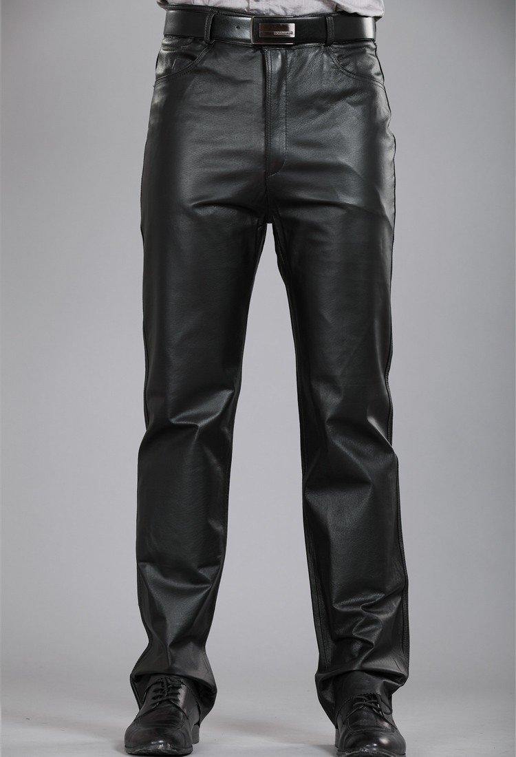 кожаные брюки мужские купить