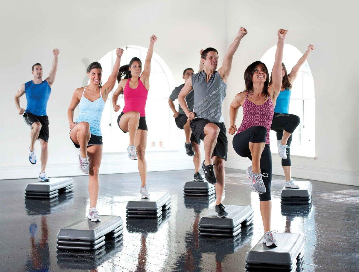 Фитнес движение фото
