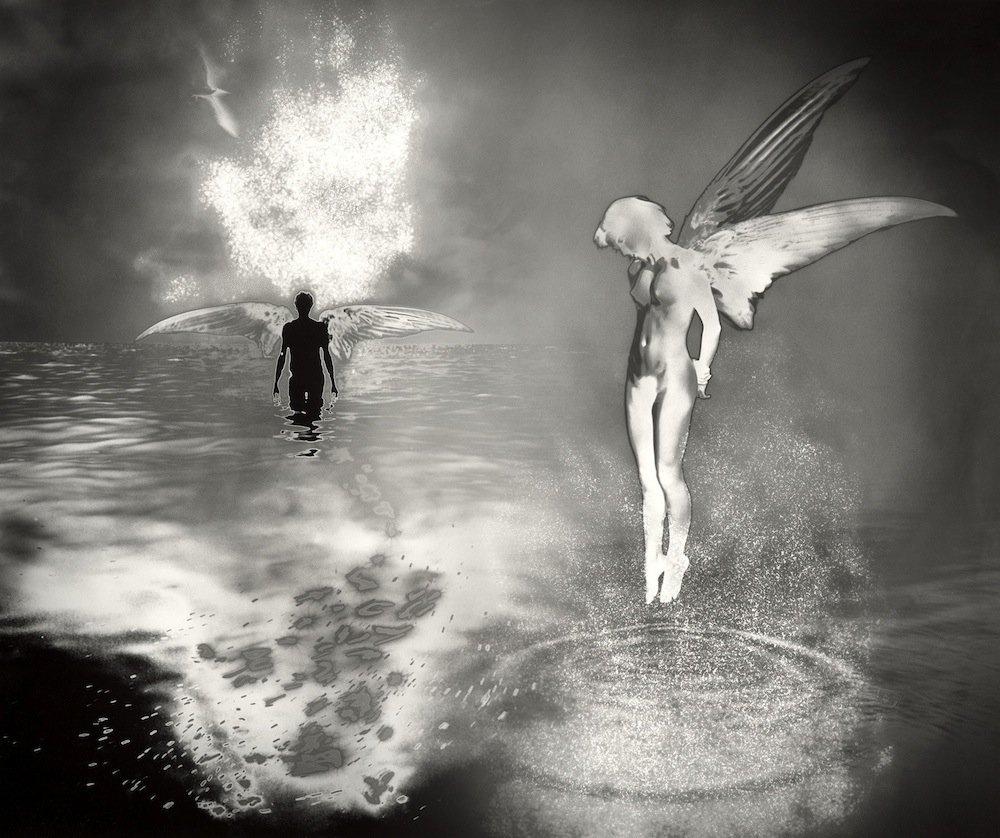 очень широкая черно-белые картинки душа связано