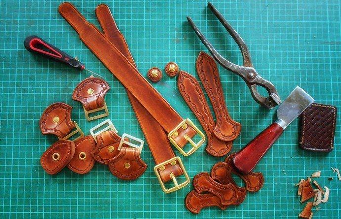Изделия из кожи ручной работы: в чм их секреты и преимуществ