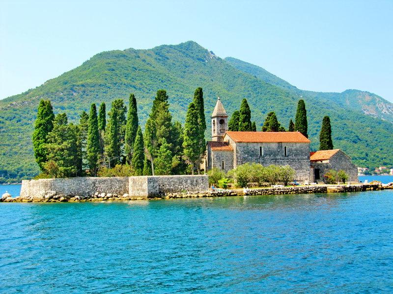 Фото острова святого георгия