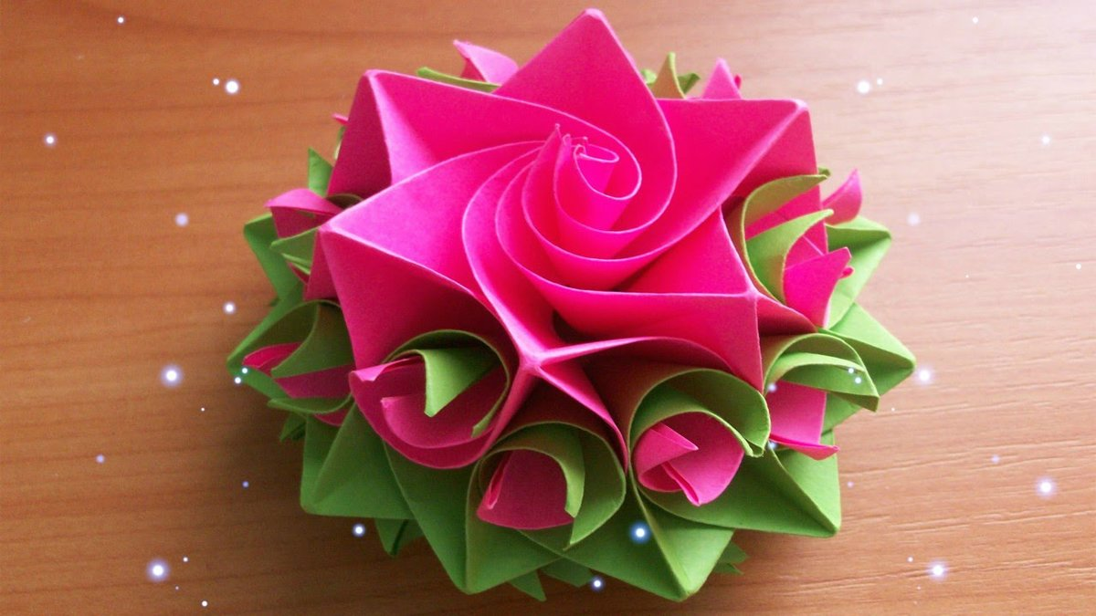 Diy Handmade Crafts How To Make Amazing Paper Rose Origami Diy
