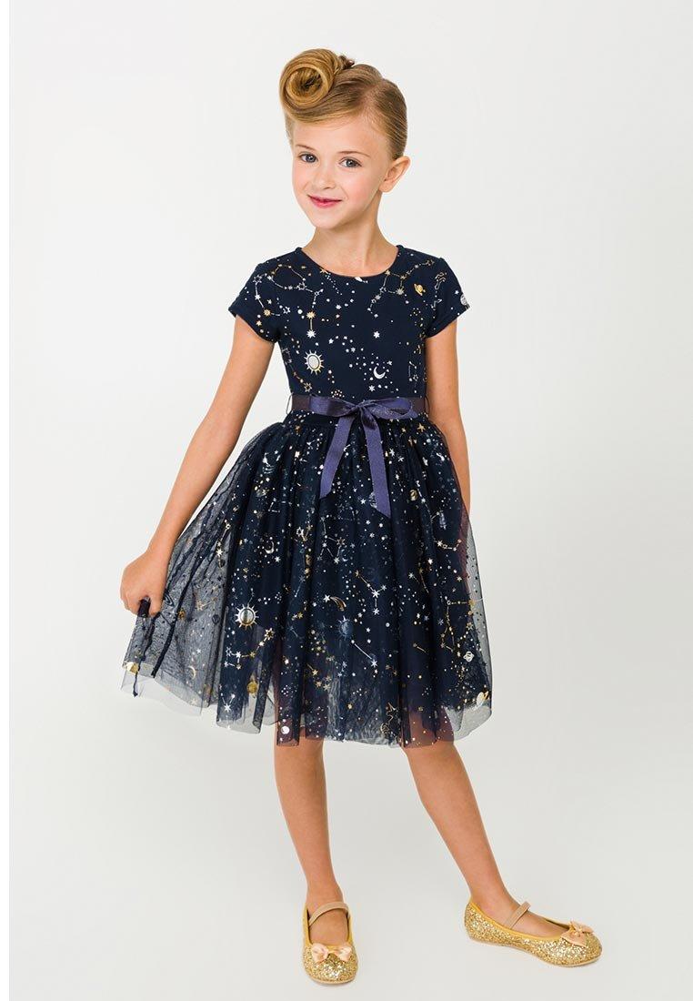 Платье со звездами девочке