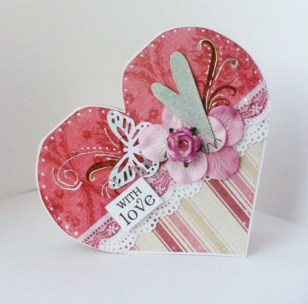 Лет, открытка святого валентина скрапбукинг