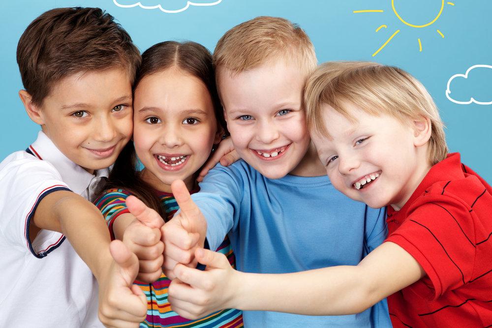 Днем рождения, картинки дети школьники друзья