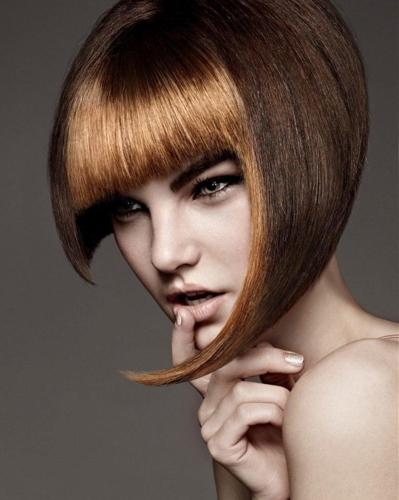 самом деле, картинки разных стрижек волос линией треугольника называется