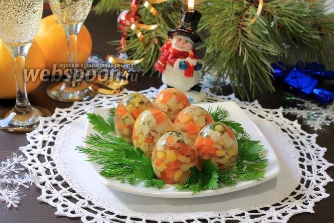 Холодные закуски на новый год 2015 с фото