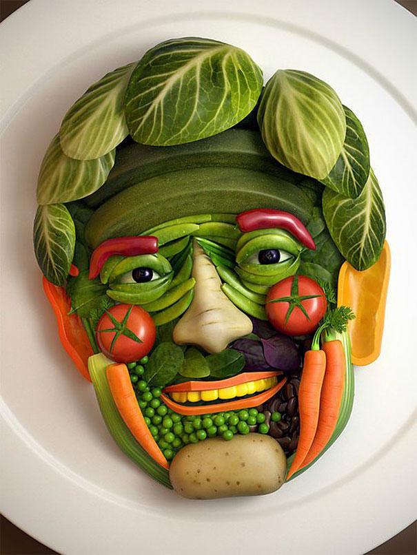 Прикольные картинки фрукты овощи, все