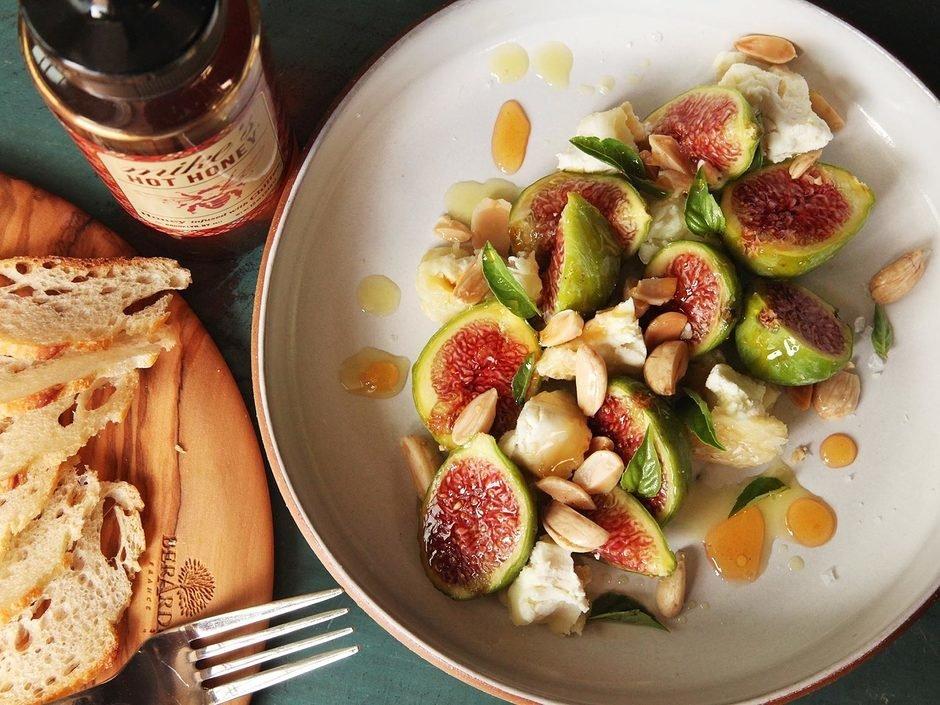 Инжир и оливковое масло рецепт