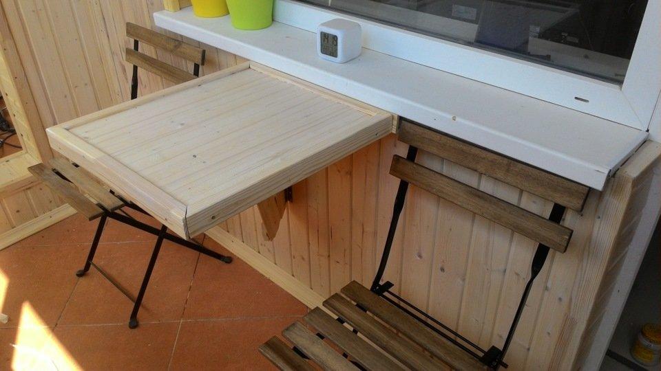 """Деревянный откидной стол"""" - карточка пользователя nastena.gg."""