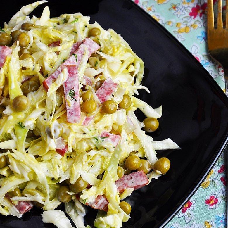 легкие и быстрые салаты рецепты с фото человек