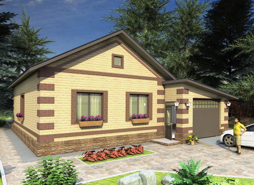 Бюджетные загородные дома фото проекты