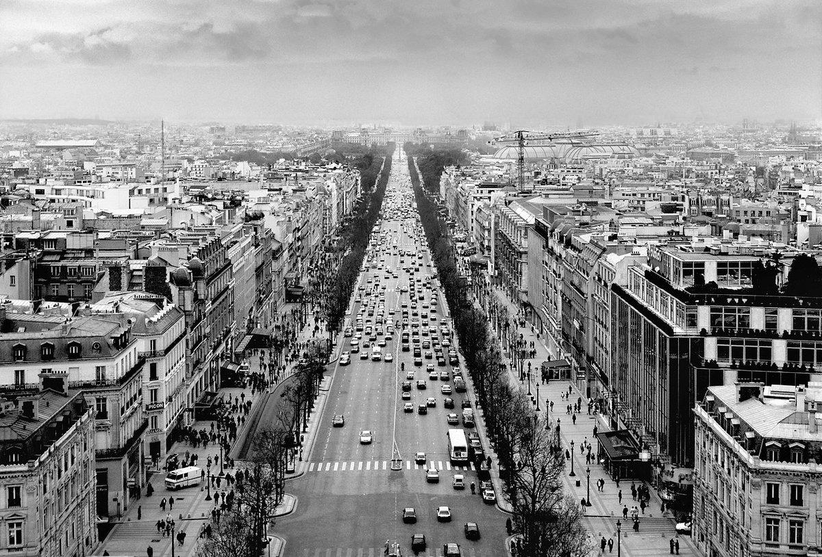 Картинки черно белые фото парижа, полиция россии мвд