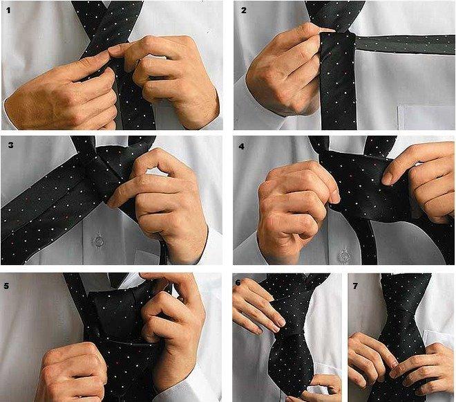 Далеко не каждый человек может быстро научиться завязывать галстуки, а  большое количество различных приемов c70eb89f128
