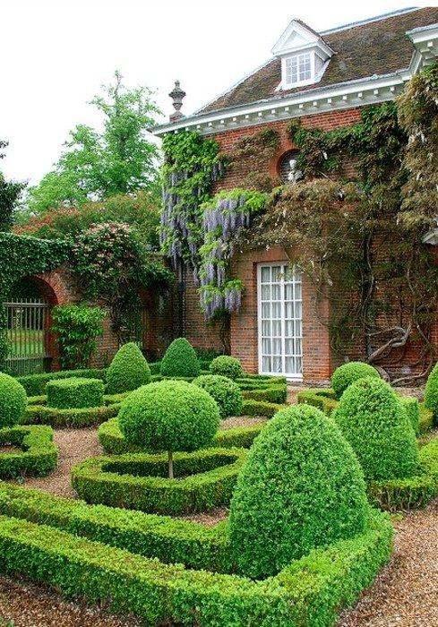 сад в итальянском стиле фото