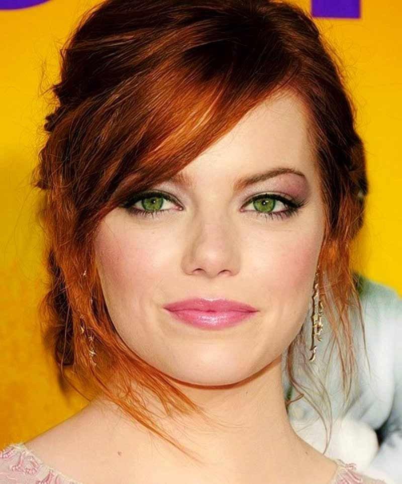 Макияж для серо-зеленых глаз по цветотипу: фото