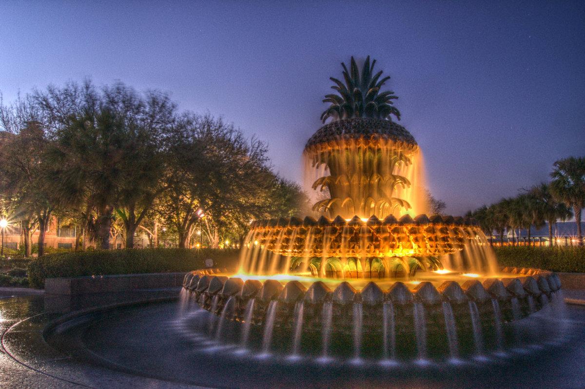 картинки необычных фонтанов