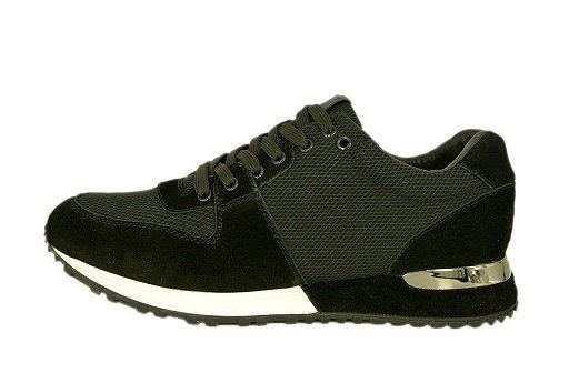753fa27aafa2 Предлагаем вам купить Мужские замшевые летние кроссовки Louis Vuitton  Sneakers Run Away черные комбинированные по доступной