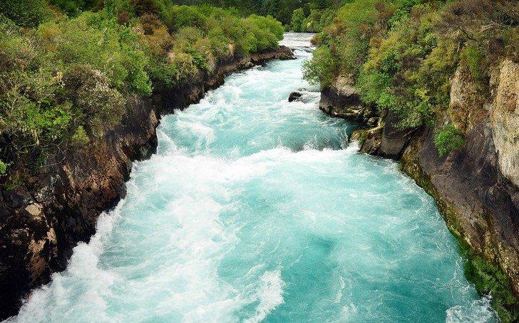 Водопады Хука, Новая Зеландия