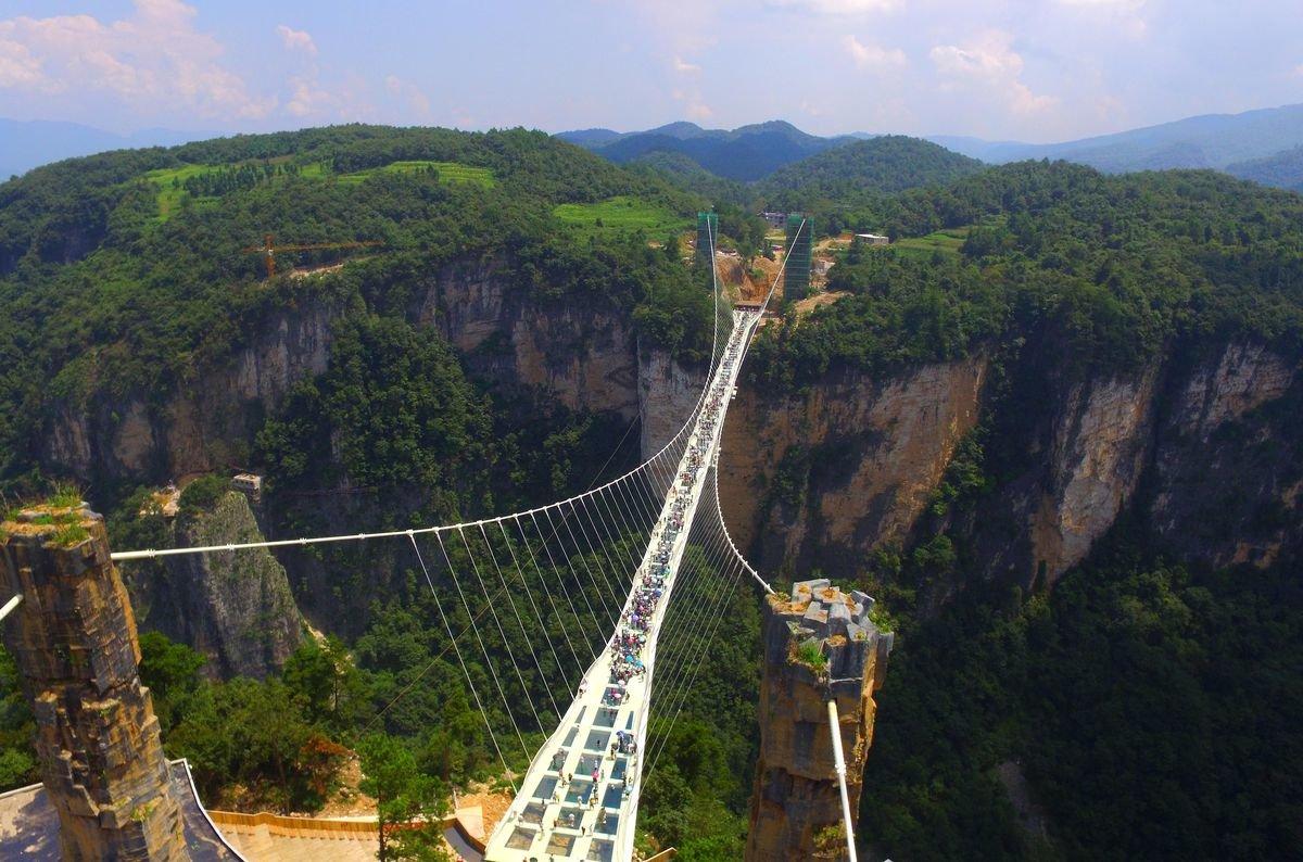 стеклянный мост в японии фото изменились настолько, что