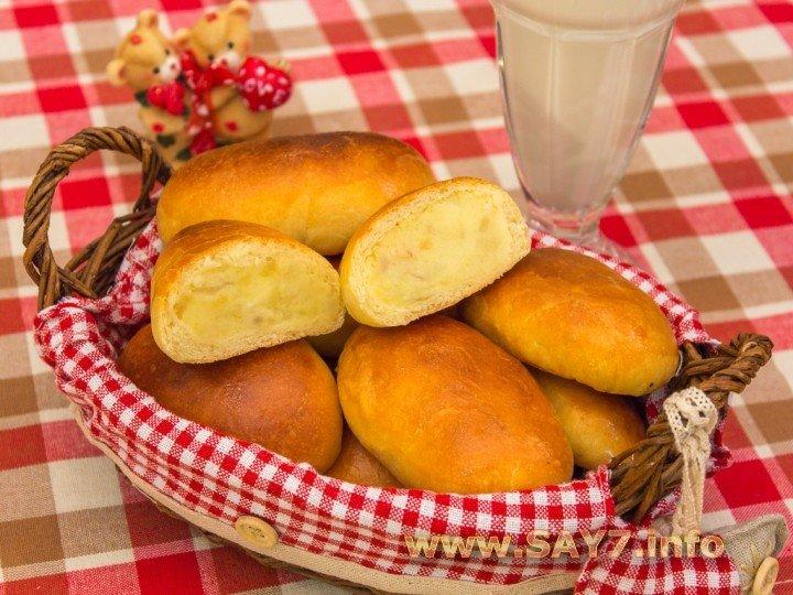 Рисунок пирожки с картошкой