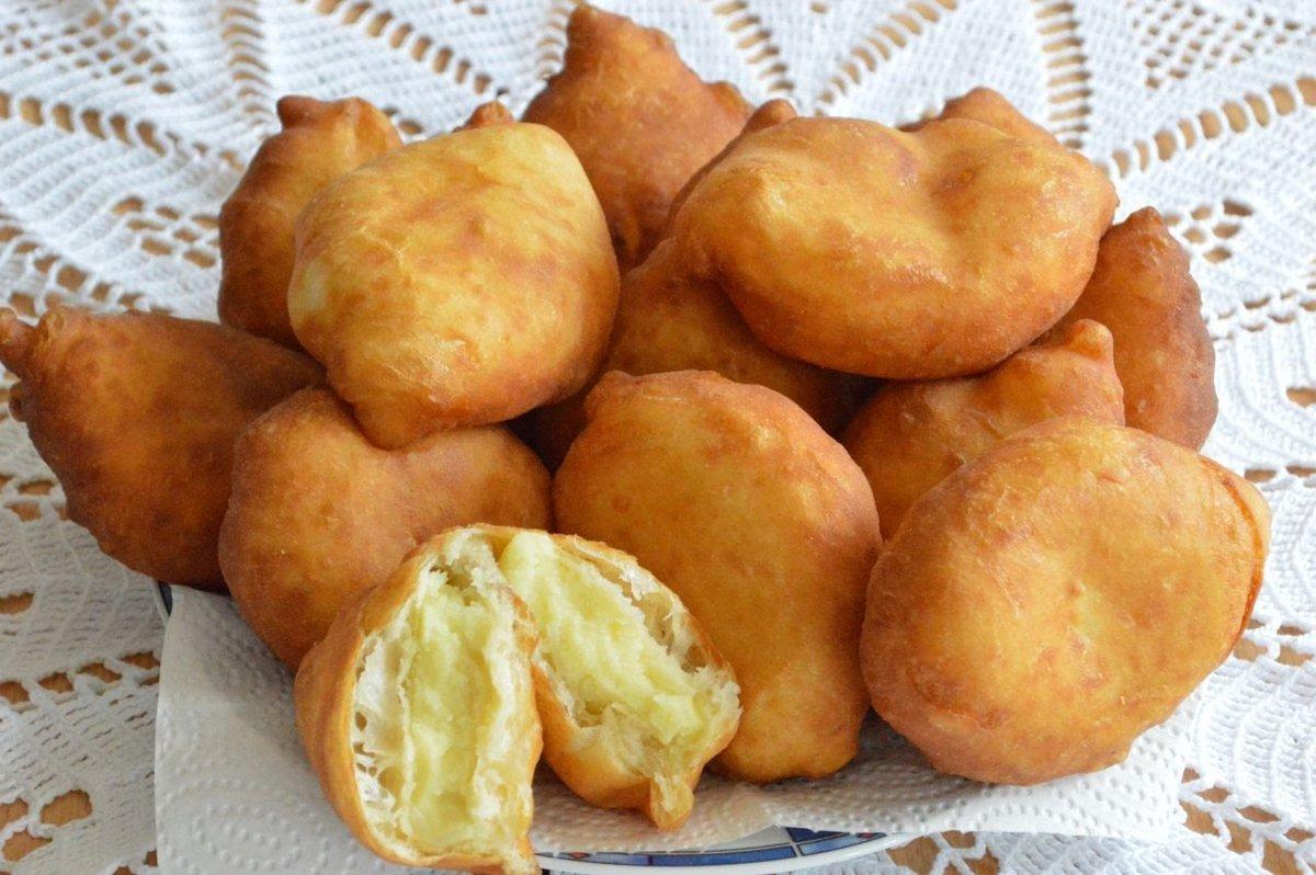 можно пирожки с картошкой фото как пончики рецепт посчитали, что это