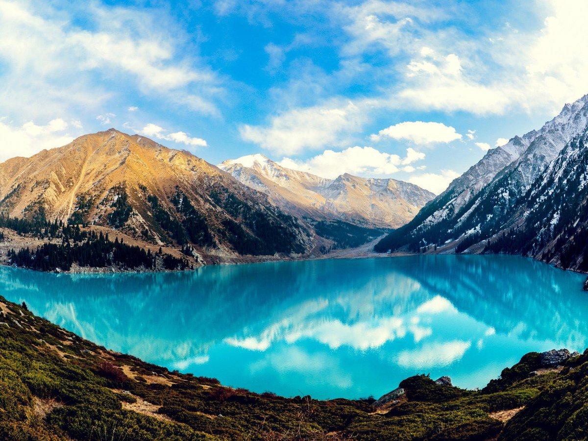 Озеро Горное, Алматы, Казахстан