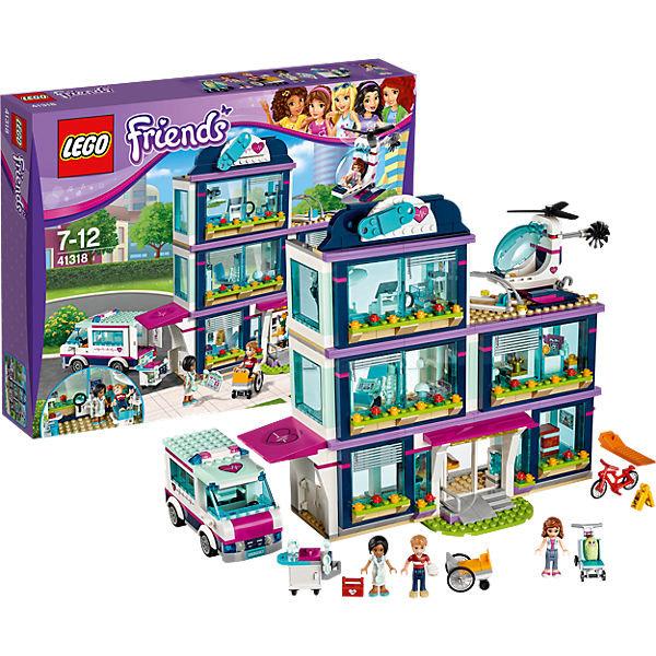 LEGO Friends 41318: Клиника Хартлейк-Сити и другие товары для детей в интернет-магазине myТoys.ru. Быстро и недорого с доставкой по всей России.