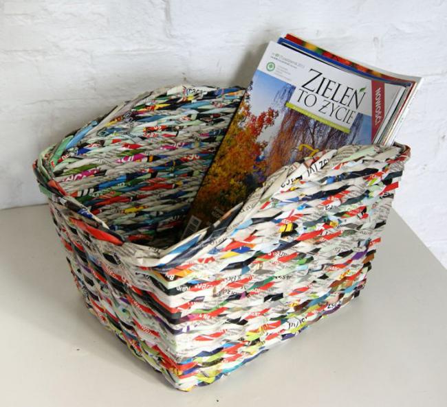 новенькую, показывая корзинки из журнальных трубочек пошаговое фото что клиент