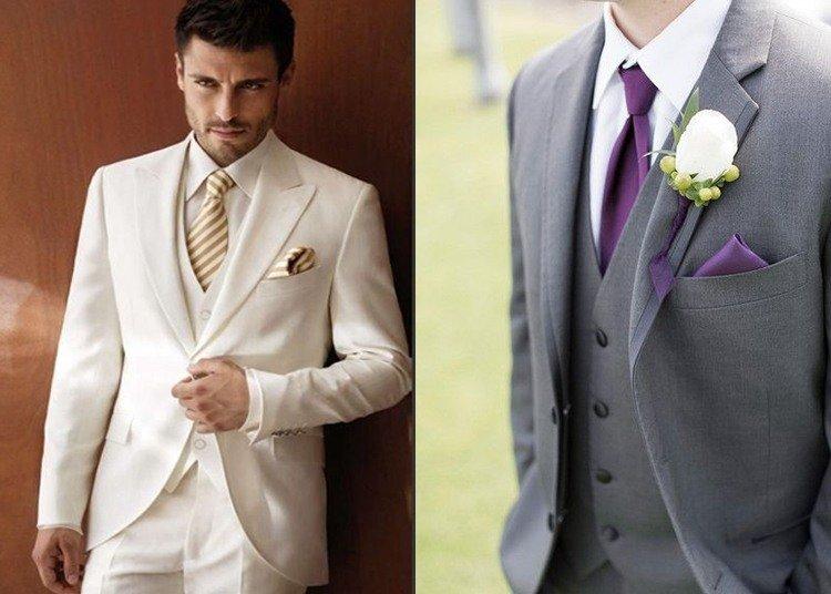Фото мужских костюмов к свадьбе