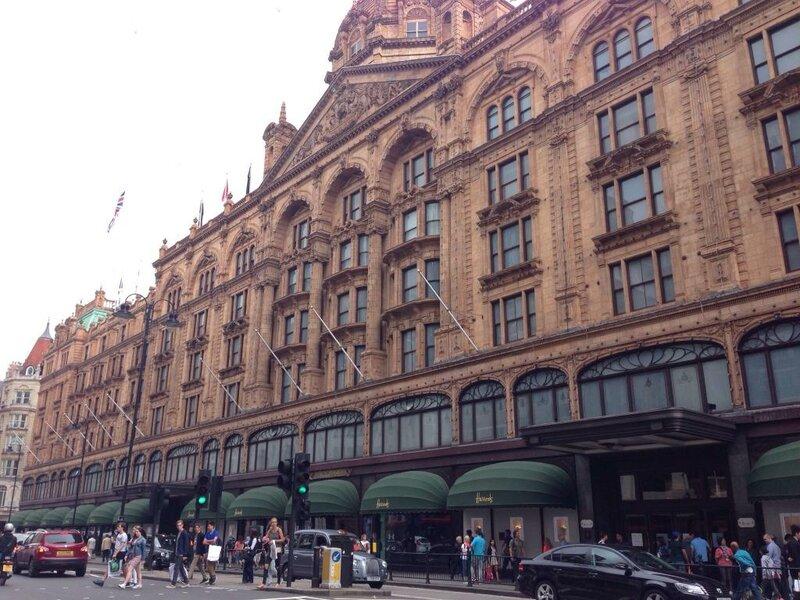 Торговый центр  Harrods, Лондон фасад