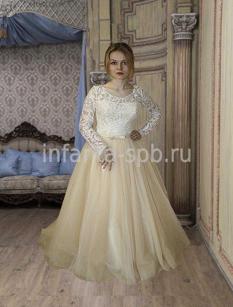 Свадебные платья недорого спб цветное