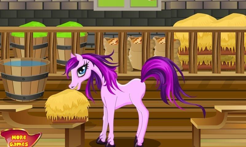 игра лошадь и пони srv