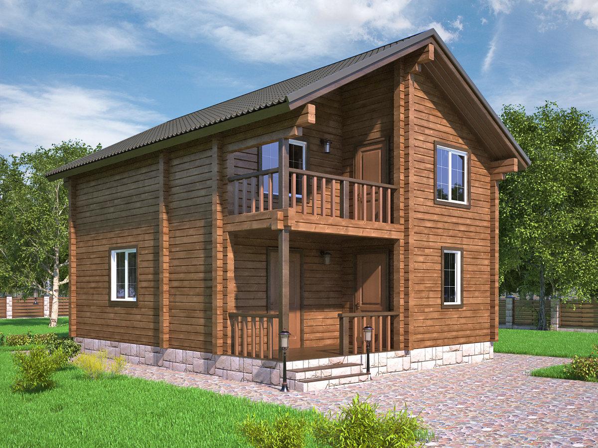 дуплексная, дом деревянный двухэтажный с террасой фото гиперплазии
