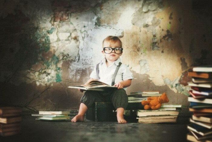 Портрет будущего мыслителя. Фотограф Юлия Отто.