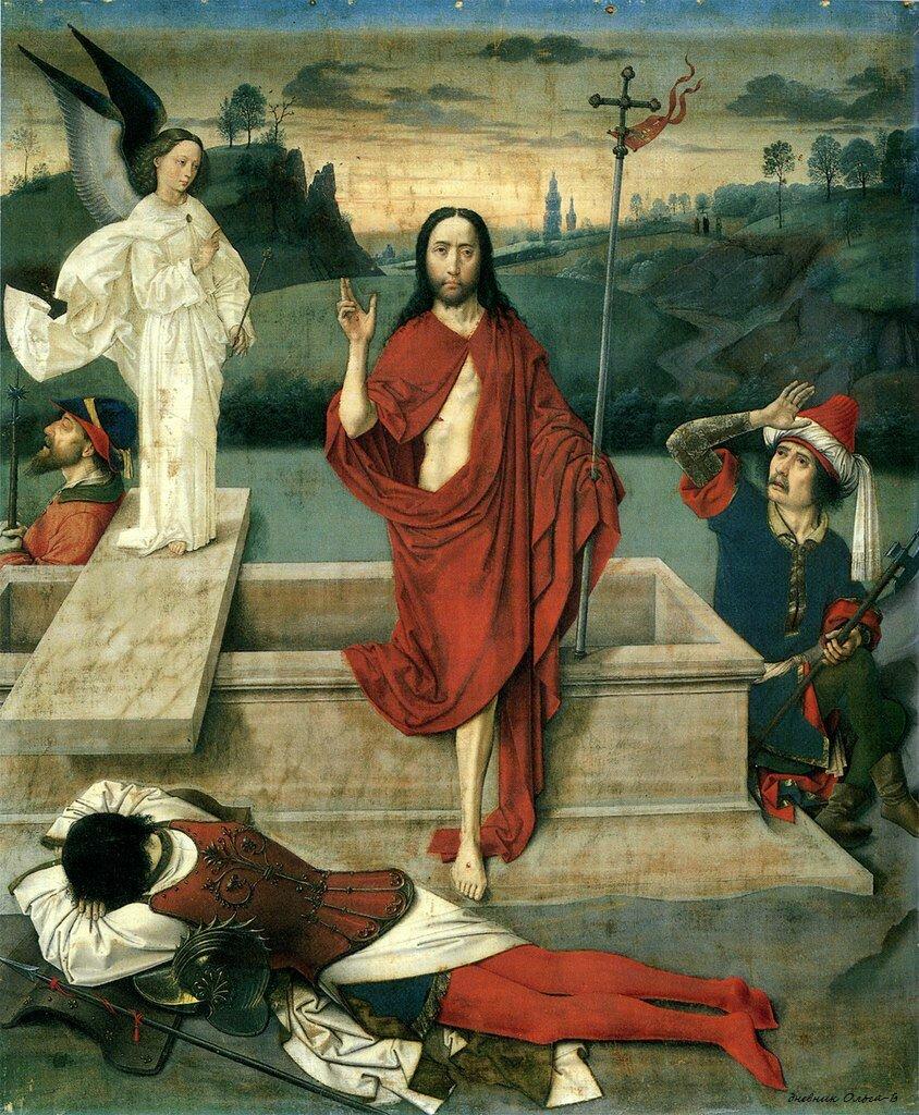 Баутс, Дирк (круг) - Воскресение Христа