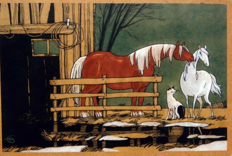 Спасибо, про лошадь открытки бауман