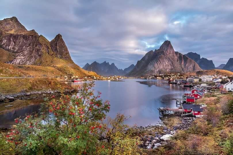 lofoten islands images - 810×540