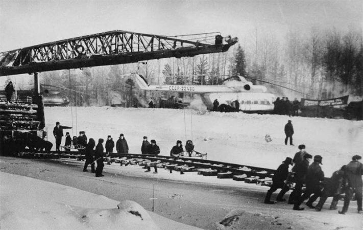 Масштабы привлечения сил и средств на время строительства трассы Тюмень-Сургут не имели аналогов в стране