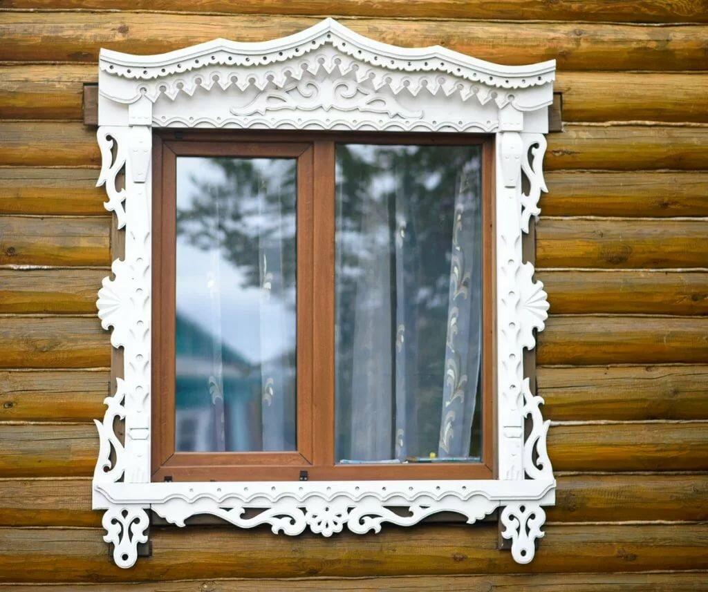 Резные наличники на окна фотографии выпученные глазки