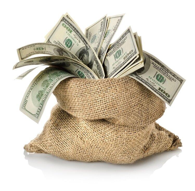 Картинка с денежкой