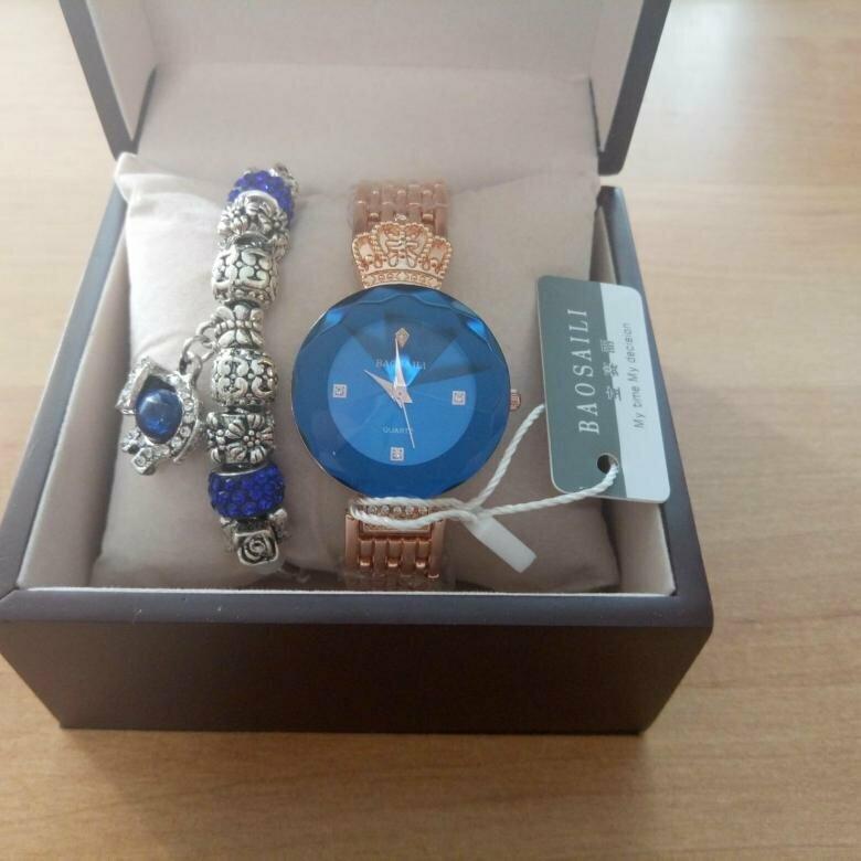 Часы Baosaili и браслет Pandora в подарок в Перми