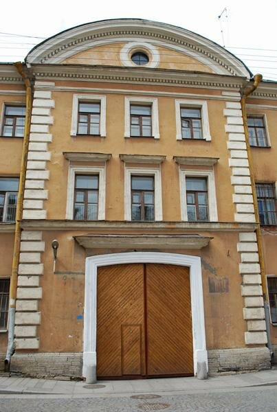 Коллегия иностранных дел - (по Галерной ул.) Академия Генерального штаба, информация, фотографии, объект на карте