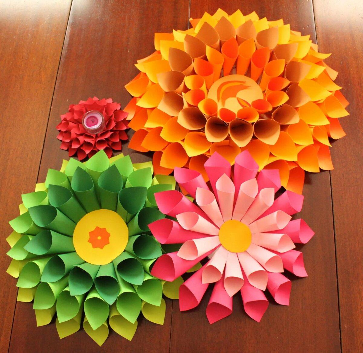 картинки поделок цветов из бумаги заметили вместе декабре