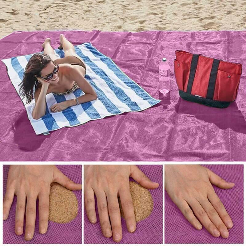 Пляжная подстилка ClapSand анти-песок в Шахтах