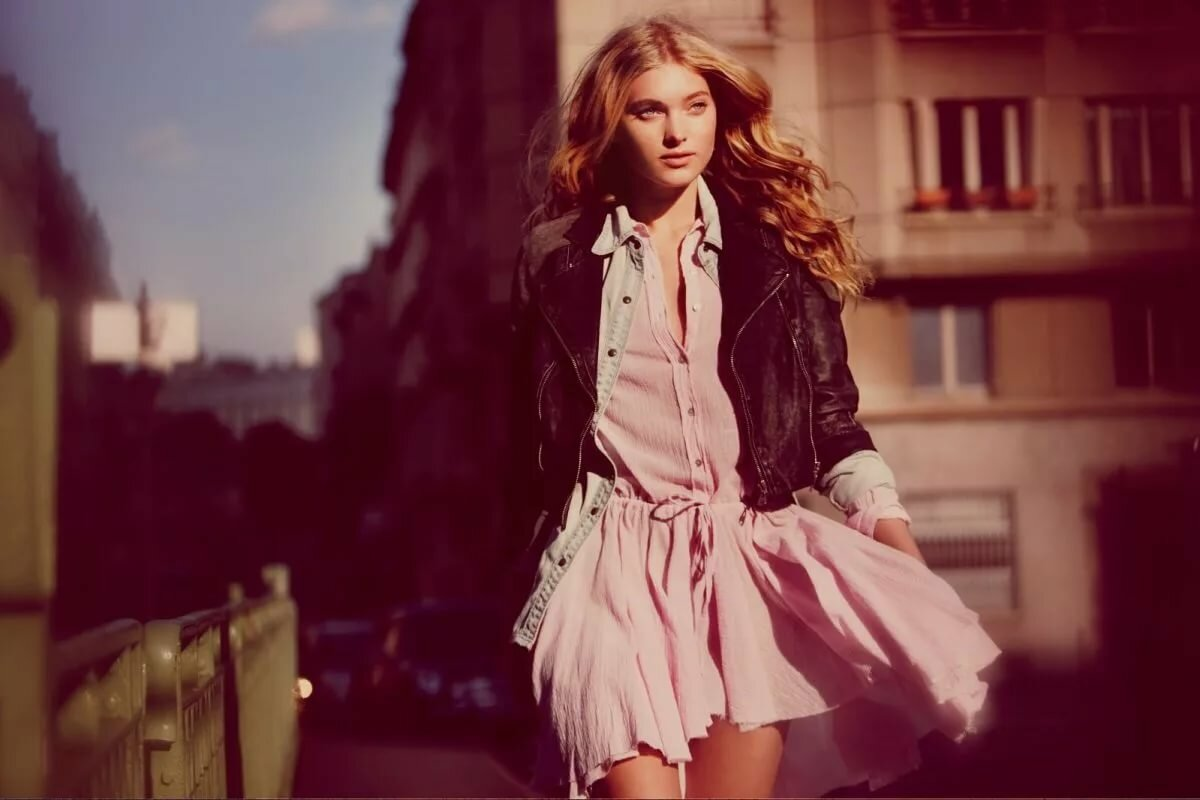 для стиль одежды для фотосессии на улице тенденция