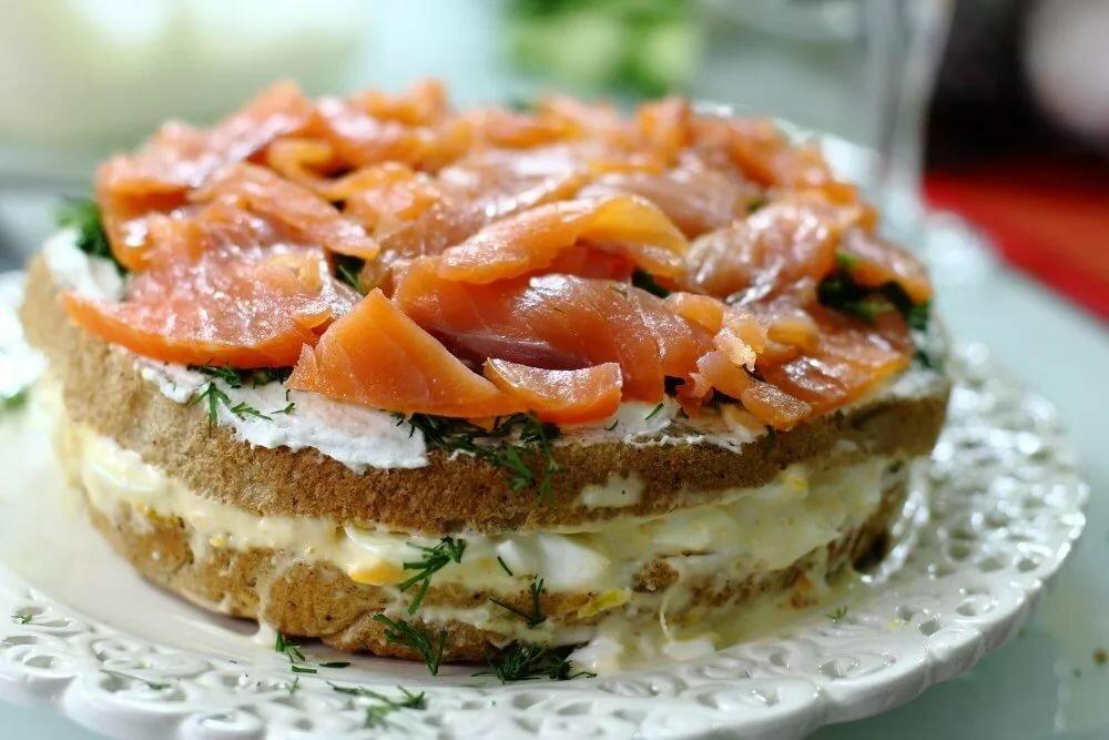 ситуация рыбный торт рецепт с фото из семги уверенной