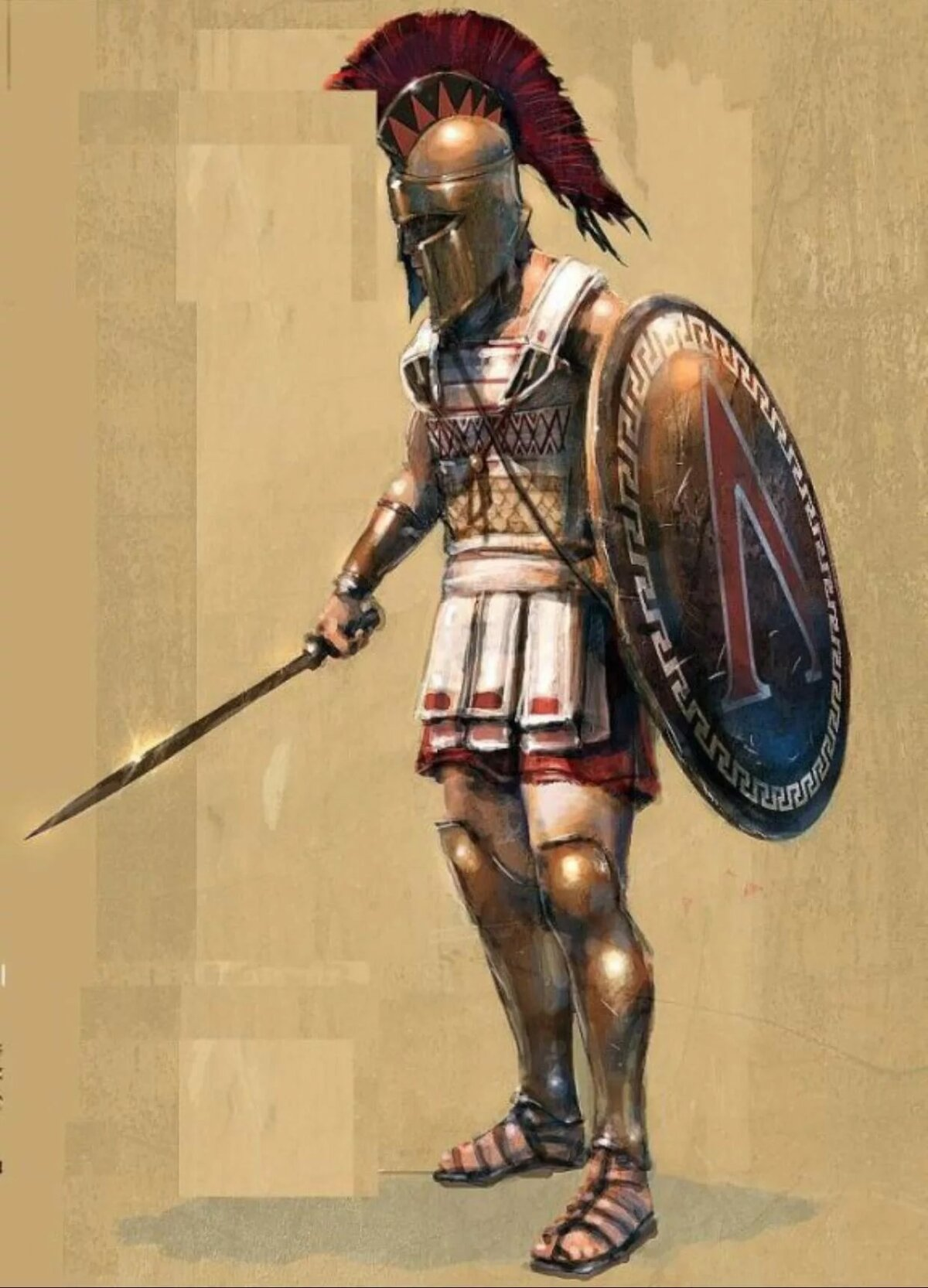 день греческий гоплит картинки хочу пожелать