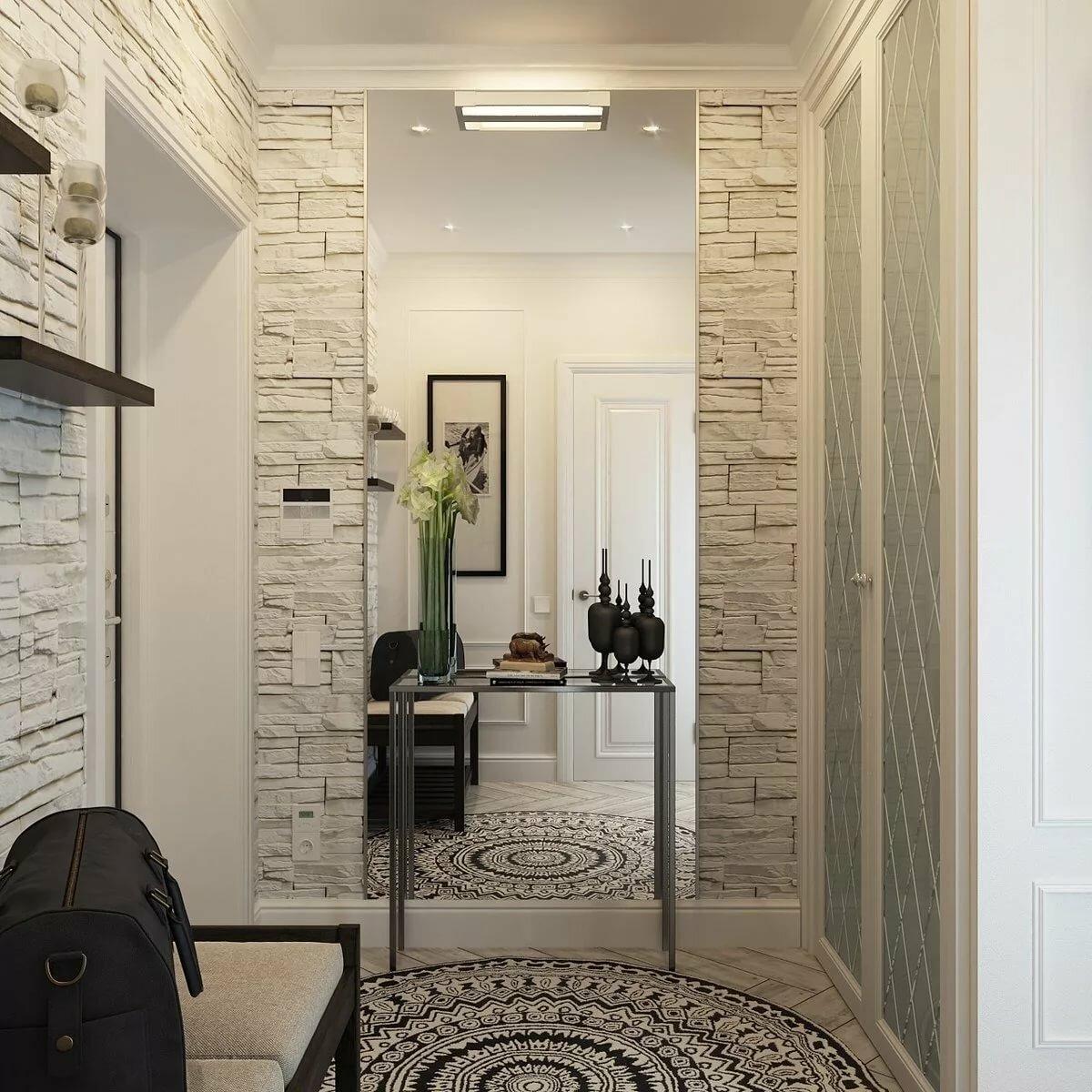 Дизайн маленького коридора картинки