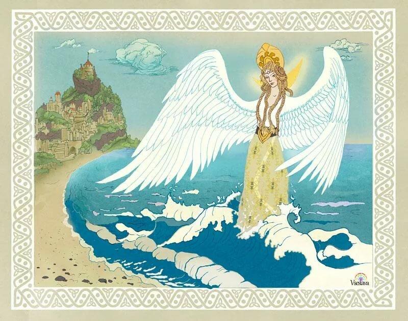 царевна лебедь пушкина картинки для много разных